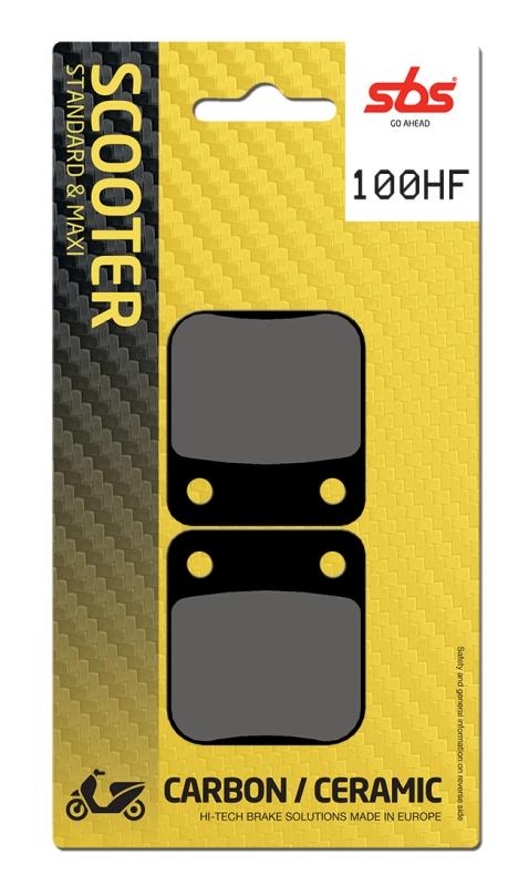 Pastilla de freno SBS P100-HF