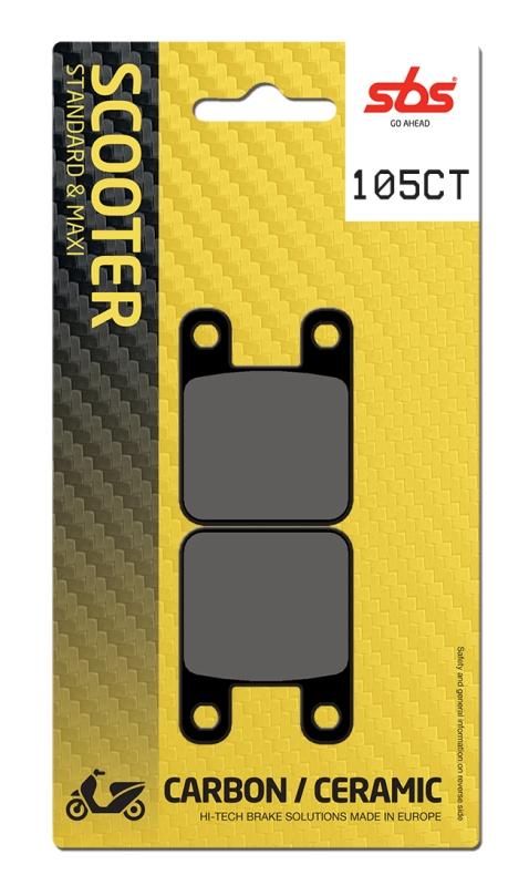 Pastilla de freno SBS P105-CT