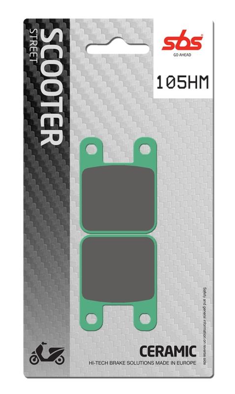 Pastilla de freno SBS P105-HM