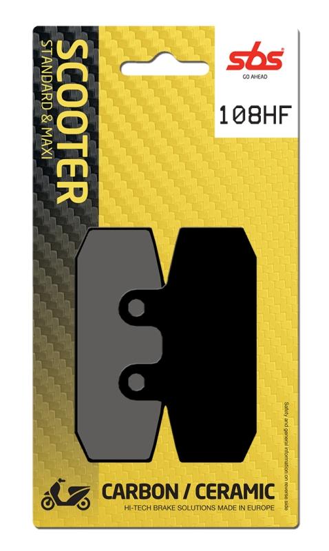Pastilla de freno SBS P108-HF