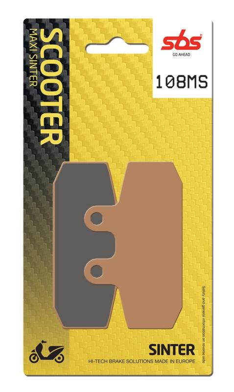 Pastilla de freno SBS P108-MS