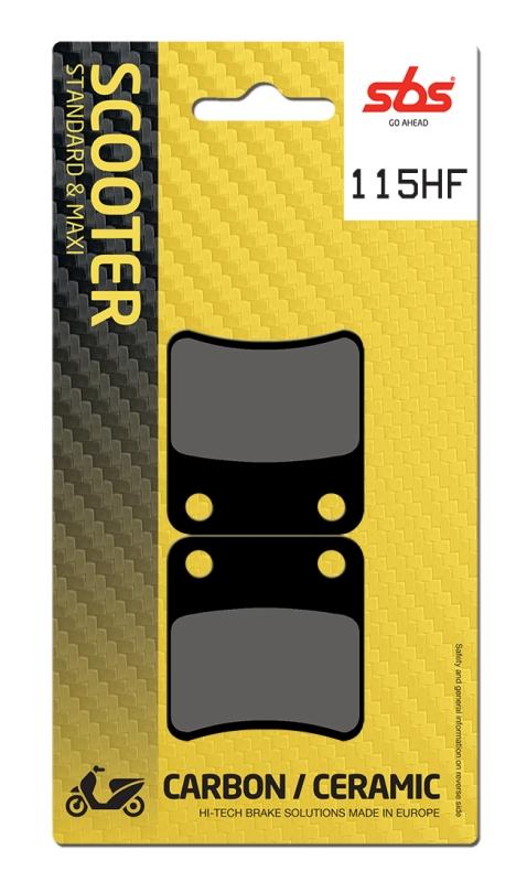 Pastilla de freno SBS P115-HF