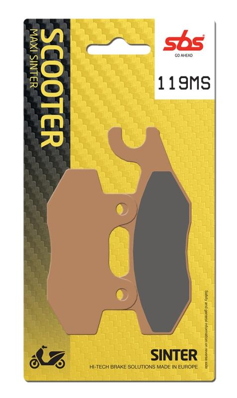 Pastilla de freno SBS P119-MS