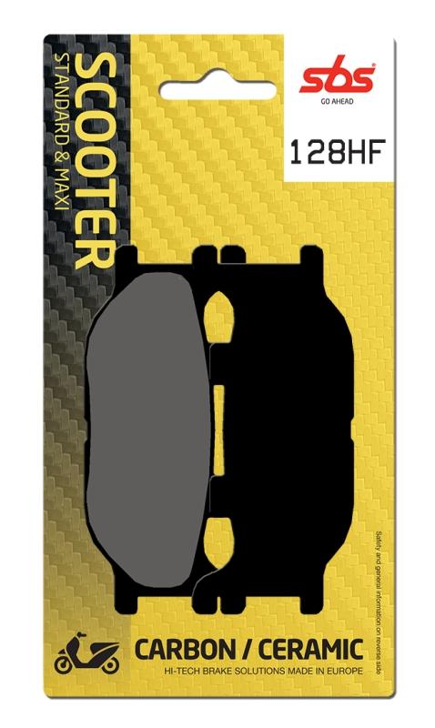 Pastilla de freno SBS P128-HF