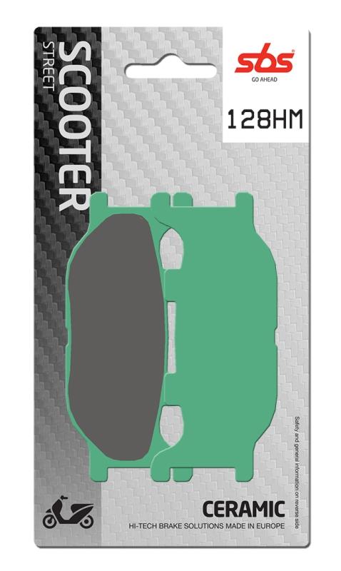 Pastilla de freno SBS P128-HM