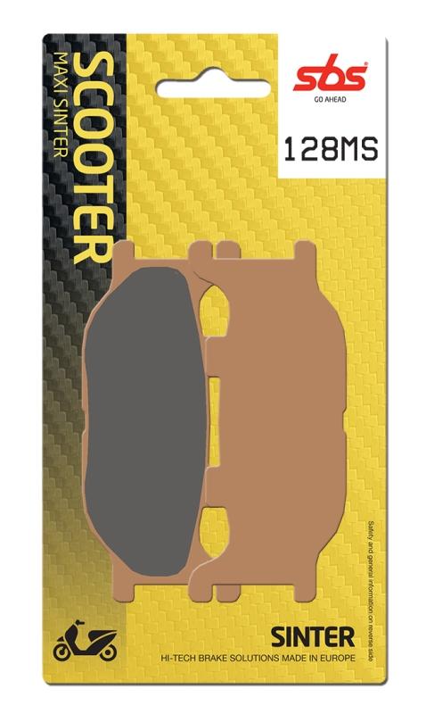 Pastilla de freno SBS P128-MS