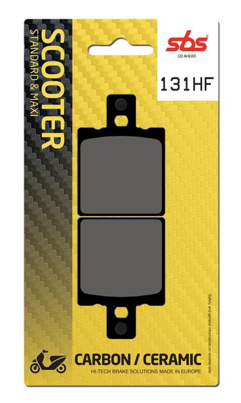 Pastilla de freno SBS P131-HF