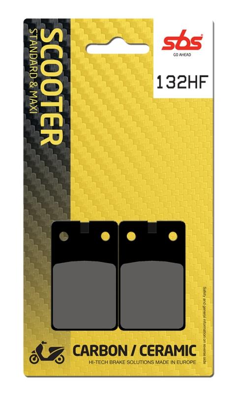 Pastilla de freno SBS P132-HF