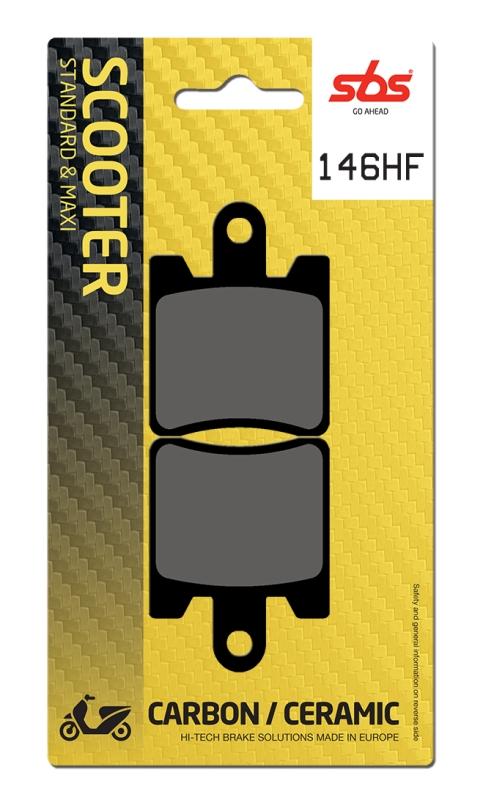 Pastilla de freno SBS P146-HF