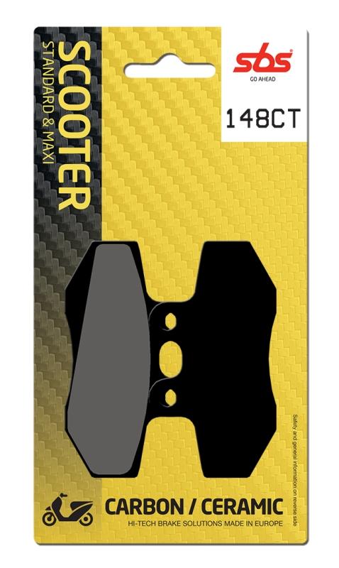 Pastilla de freno SBS P148-CT