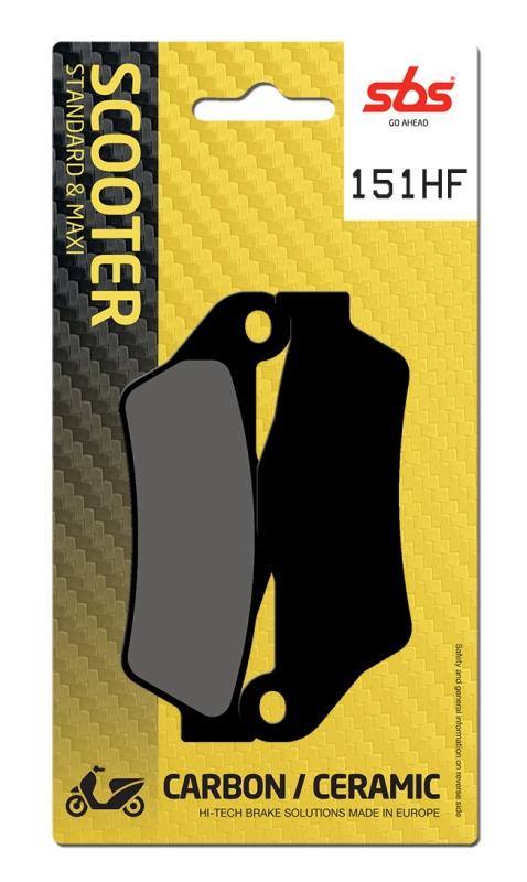 Pastilla de freno SBS P151-HF