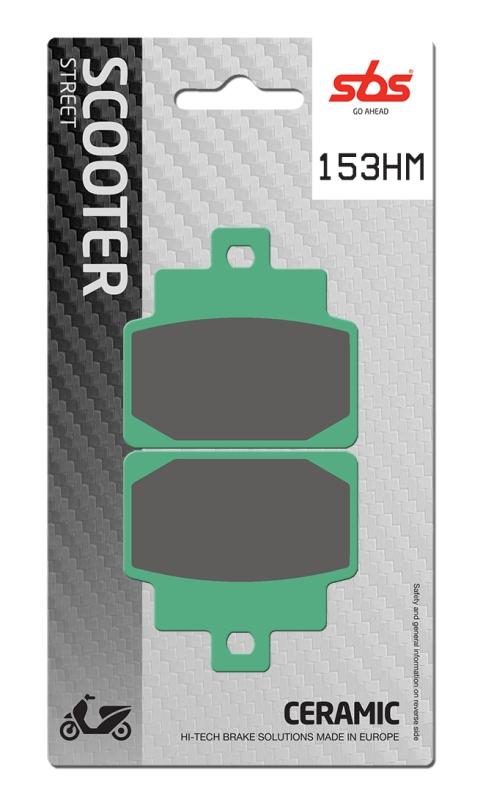 Pastilla de freno SBS P153-HM