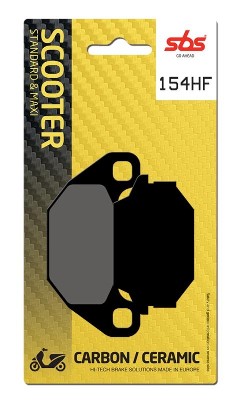 Pastilla de freno SBS P154-HF