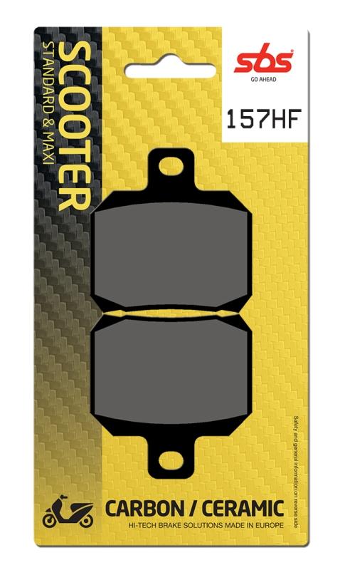 Pastilla de freno SBS P157-HF
