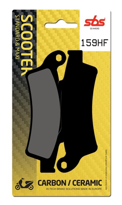 Pastilla de freno SBS P159-HF