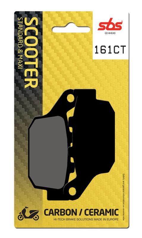 Pastilla de freno SBS P161-CT