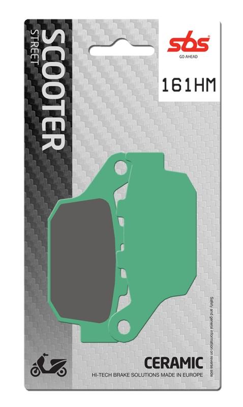 Pastilla de freno SBS P161-HM