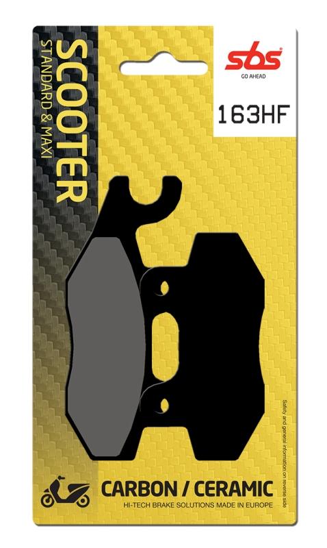 Pastilla de freno SBS P163-HF