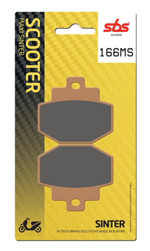 Pastilla de freno SBS P166-MS