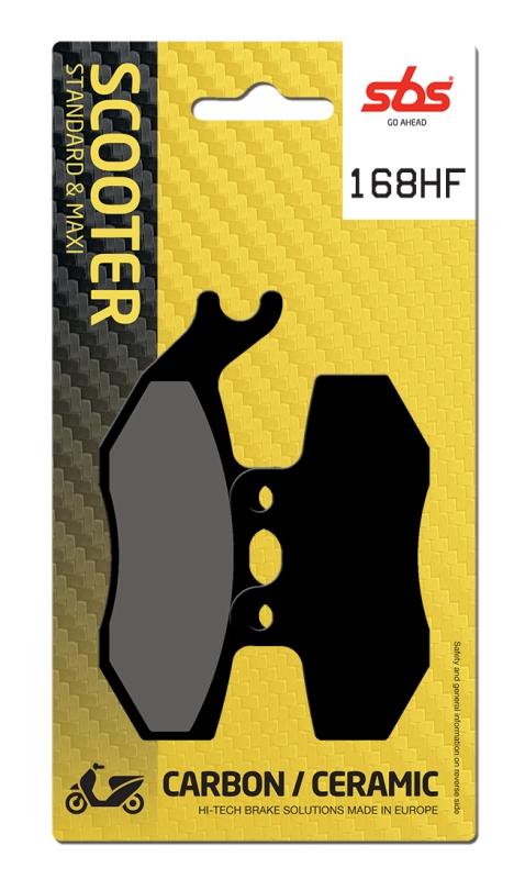 Pastilla de freno SBS P168-HF
