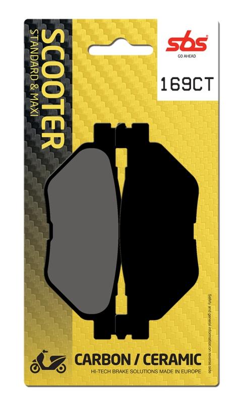 Pastilla de freno SBS P169-CT