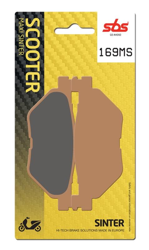 Pastilla de freno SBS P169-MS