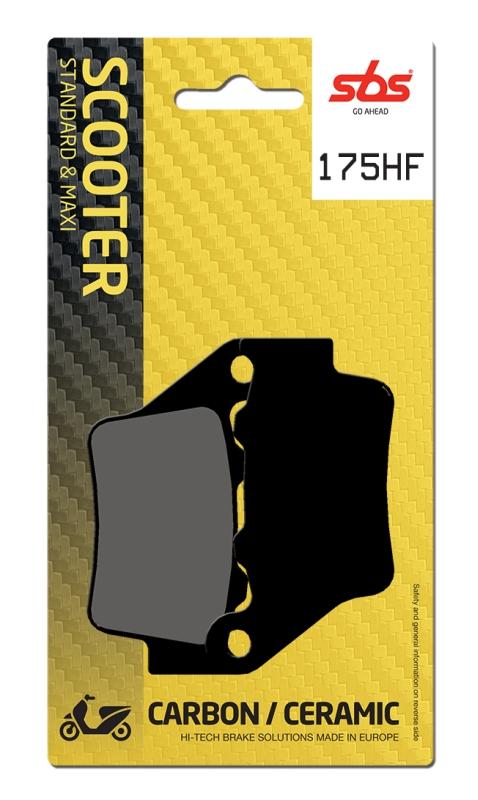 Pastilla de freno SBS P175-HF