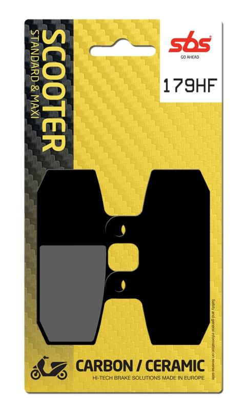 Pastilla de freno SBS P179-HF