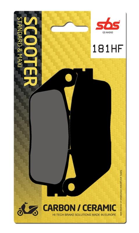 Pastilla de freno SBS P181-HF