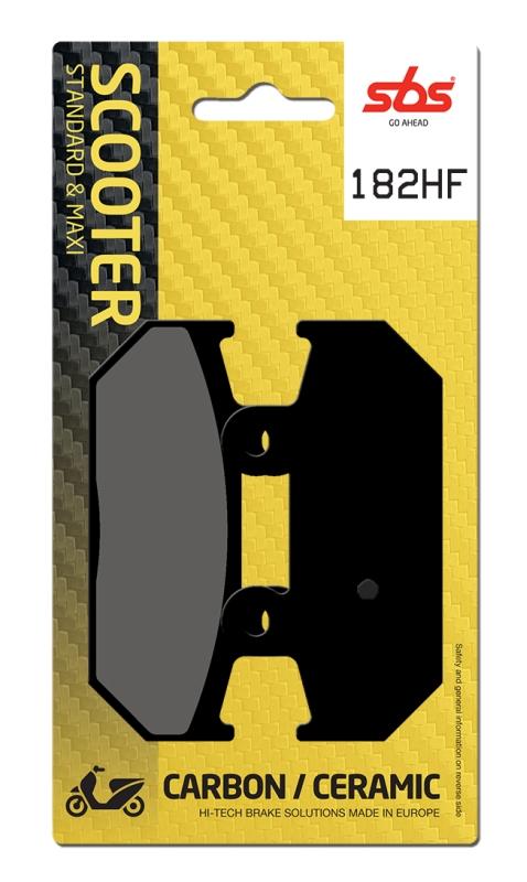 Pastilla de freno SBS P182-HF
