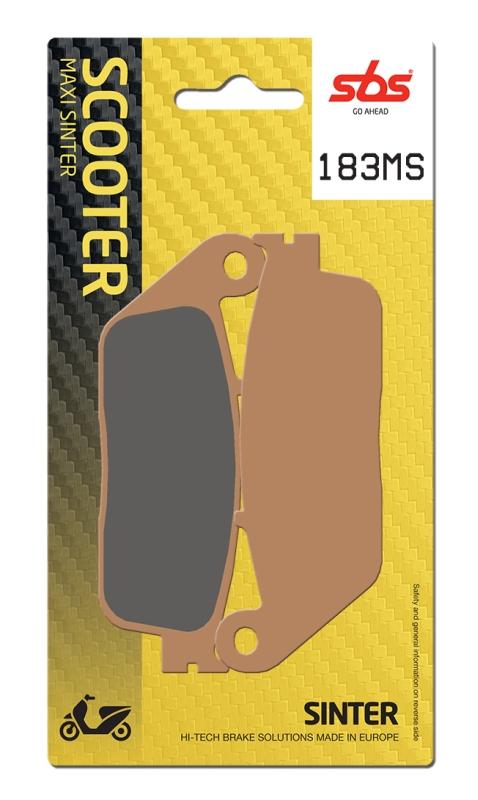 Pastilla de freno SBS P183-MS