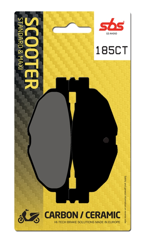 Pastilla de freno SBS P185-CT