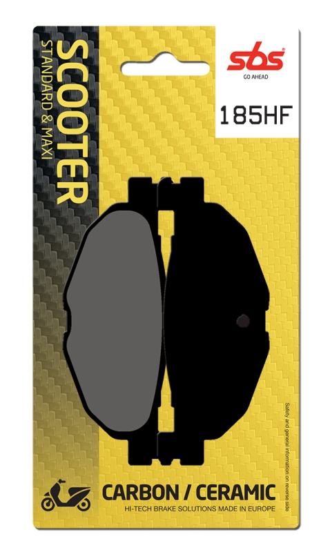 Pastilla de freno SBS P185-HF