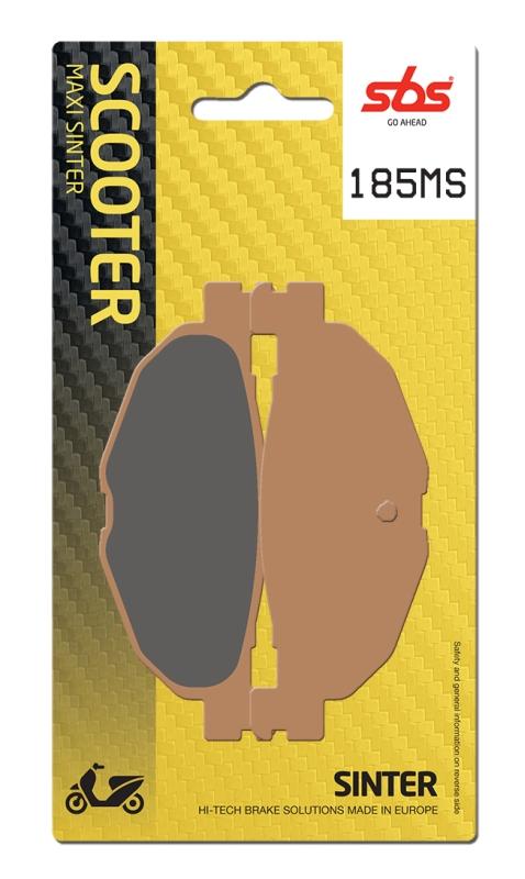 Pastilla de freno SBS P185-MS