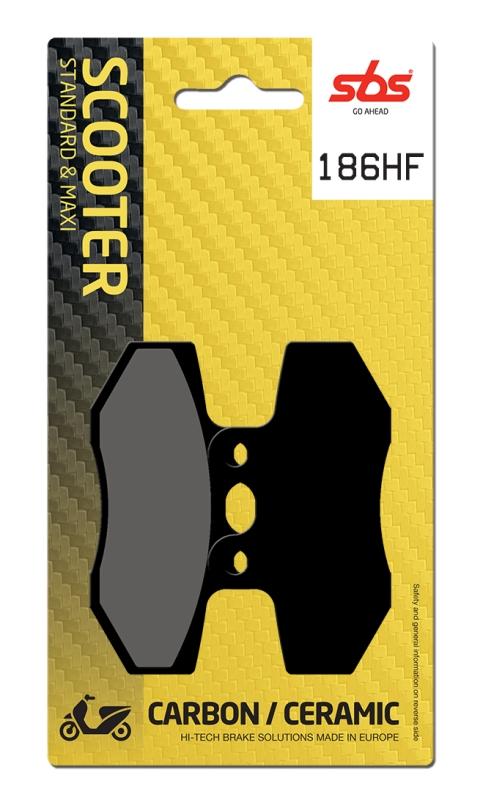 Pastilla de freno SBS P186-HF
