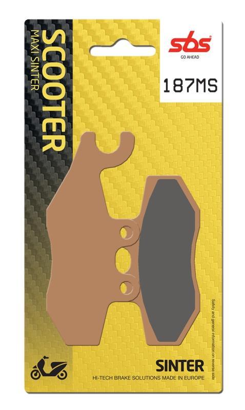 Pastilla de freno SBS P187-MS