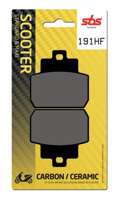 Pastilla de freno SBS P191-HF