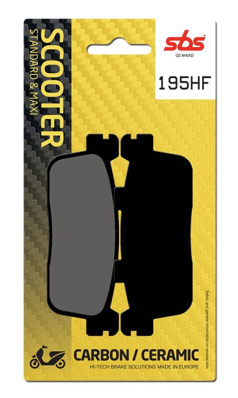 Pastilla de freno SBS P195-HF