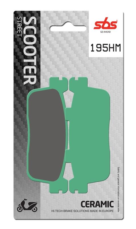 Pastilla de freno SBS P195-HM