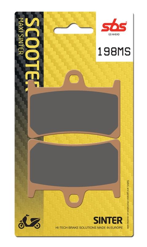 Pastilla de freno SBS P198-MS