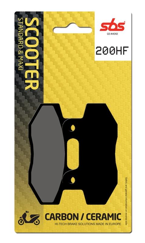 Pastilla de freno SBS P200-HF
