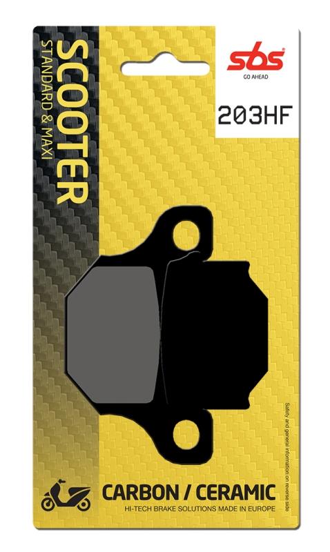 Pastilla de freno SBS P203-HF