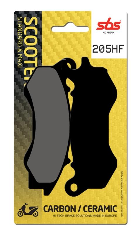 Pastilla de freno SBS P205-HF