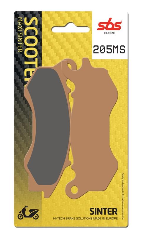 Pastilla de freno SBS P205-MS