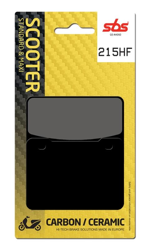 Pastilla de freno SBS P215-HF