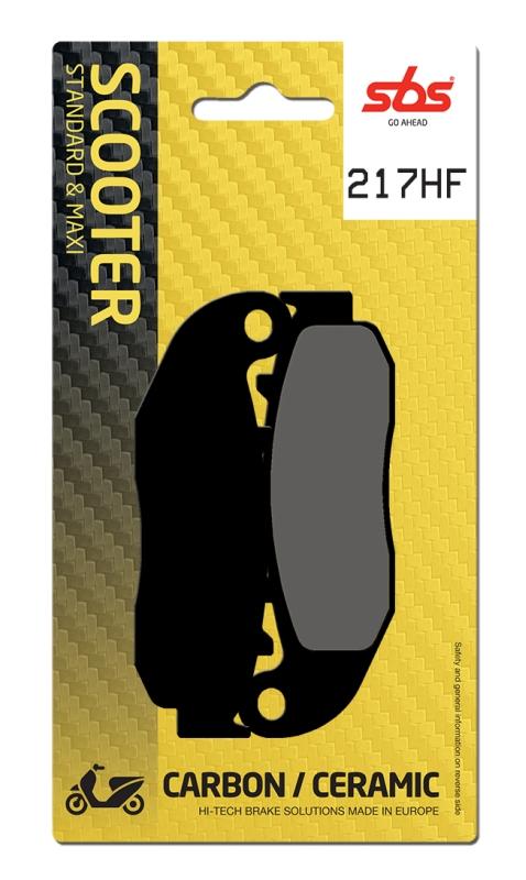 Pastilla de freno SBS P217-HF