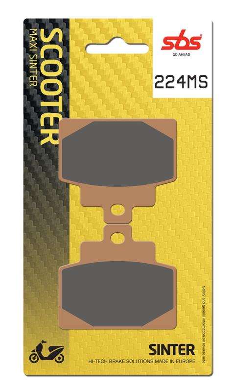Pastilla de freno SBS P224-MS