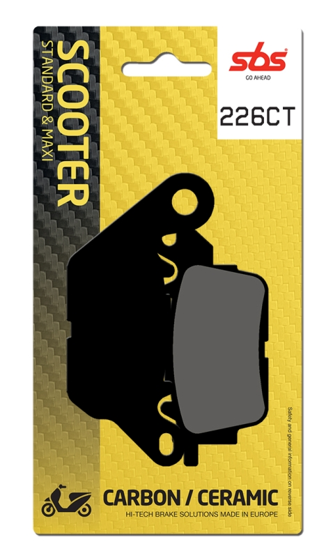 Pastilla de freno SBS P226-CT