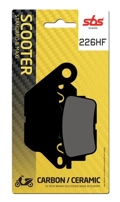 Pastilla de freno SBS P226-HF