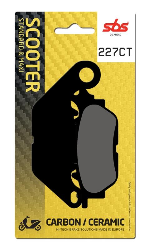 Pastilla de freno SBS P227-CT
